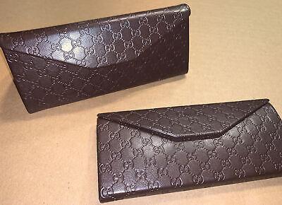Gucci GUCCISSIMA Foldable Glasses Eyeglasses Case Trifold Sunglasses