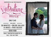 Valentine Minis for couples!