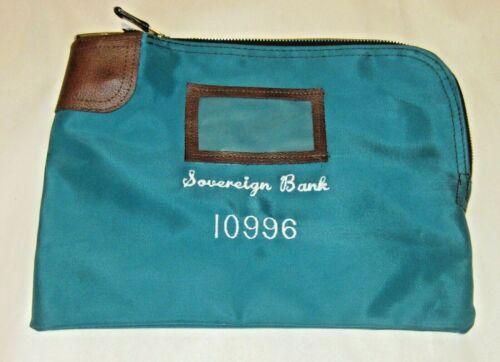Sovereign  Bank Locking Bag Safety Sac by Rifkin Vinyl Arcolock -7 Coated Keys