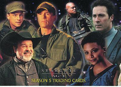 Stargate Season 5 Trading Card Set (72 Cards)
