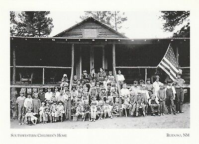 "*Postcard-""Southwestern Children's Home"" (Destroyed 1970's) *Ruidoso, NM (XT20)"
