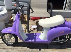 Kids battery operated scooter