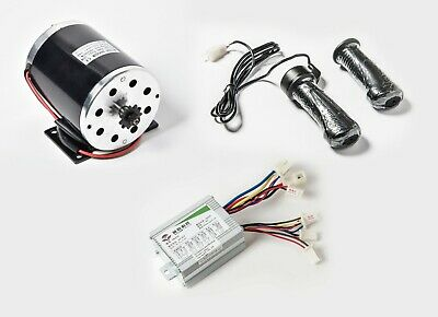 500w 36v Dc Scooter Electric 1020 Motor Kit W Basespeed Controltwist Throttle