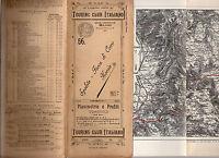 Planimetrie E Profili Ciclistici N 56 Spoleto Forca Di Cerro Norcia 1901 -  - ebay.it