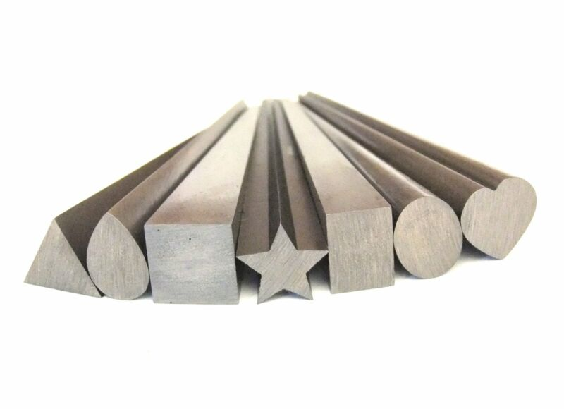 Large Assorted Solid Steel Shaping, Forming And Wrapping Mandrels 7Pc