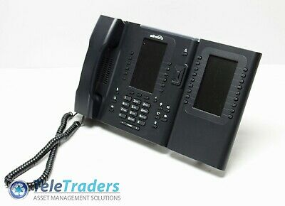 Allworx Verge 9312 Voip Phone Bluetooth 4.3 Display W 9318ex Expander Module