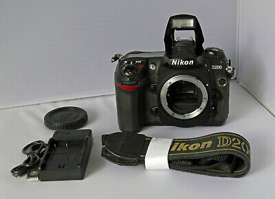 Nikon D200 Digital Camera DSLR, Body Only, Fully Working