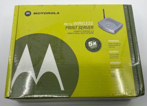 Motorola 802.11g Wireless Print Server Model WPS870G - New