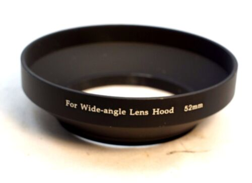 52mm Metal Lens hood screw in type Wide Angle for 28mm f2.8 35mm f2.0 f3.5