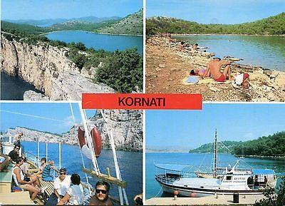 Alte Postkarte - Kornati