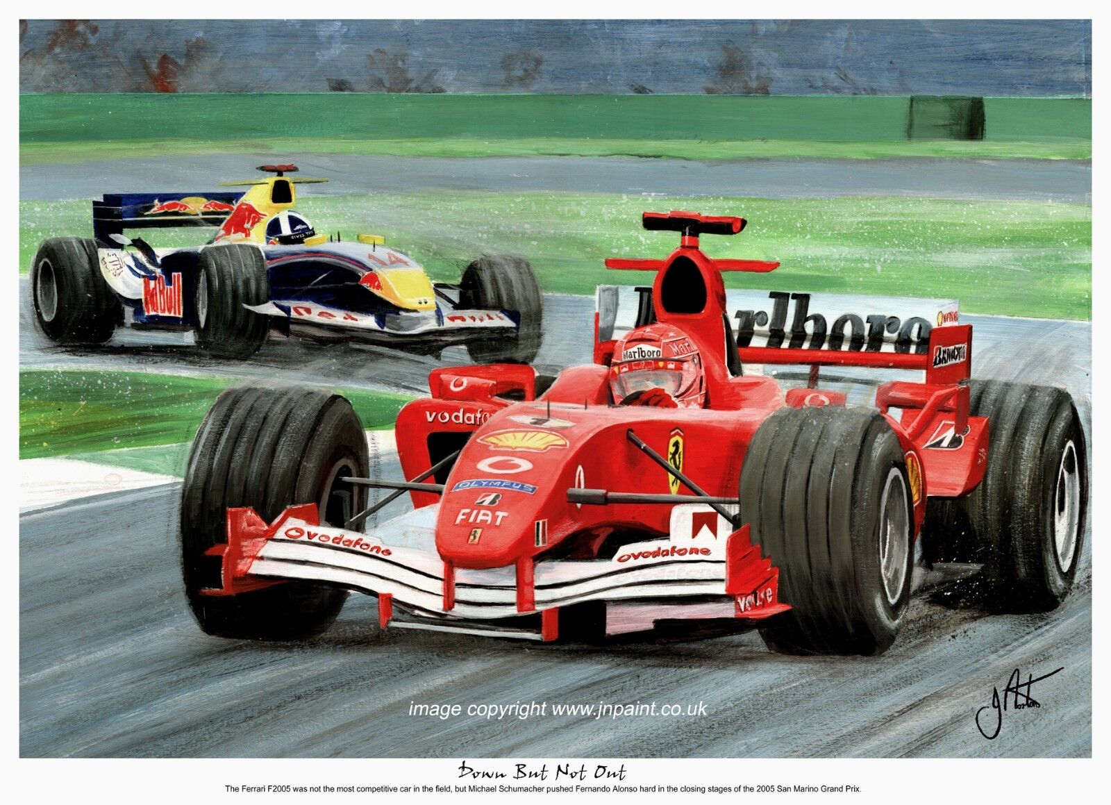 WOW!!!FORMULA 1 F1 Ferrari F2001 Race Car 3D View Michael Schumacher