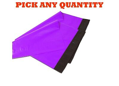 12x15.5 Purple Poly Mailers Shipping Envelopes Self Sealing Mailing Bags 12x15