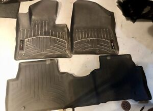 WeatherTech front and back 2014 Sante Fe Sport