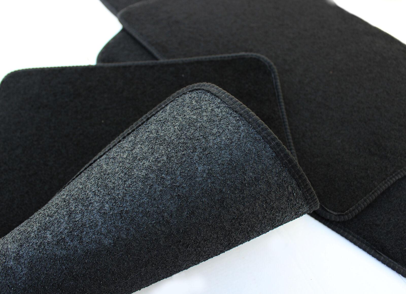 fu matten automatten velours f r peugeot 307 cc 2001 08 4tlg schwarz ebay. Black Bedroom Furniture Sets. Home Design Ideas