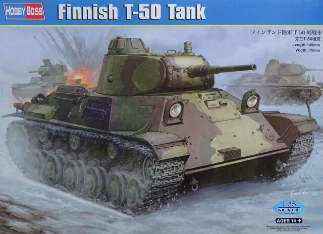 HOBBYBOSS® 83828 Finnish T-50 Tank in 1:35