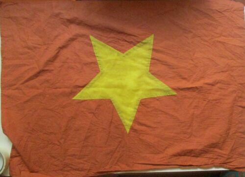 FLAG _ 1 VC Vietcong NVA NLF North VN Army Flag, NVA FLAG  VIET CONG,.