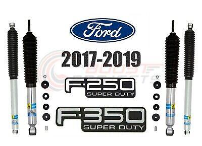 Bilstein B8 5100 Front Rear Monotube Shocks For 17-19 F-250 F-350 Superduty