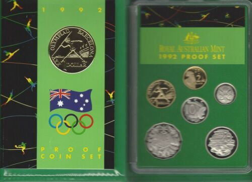 1992 ROYAL AUSTRALIAN MINT XXV OLYMPIAD BARCELONA ROYAL AUSTRALIAN MINT