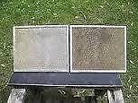 Excellent Condition: Pair Of Range Hood Screens