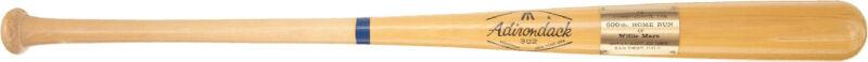 1970's Adirondack Willie Mays 600 Home Runs Baseball Bat