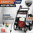 Black Eagle 7HP 3800psi Pressure Washer Cleaner with 20M Hose Fairfield East Fairfield Area Preview