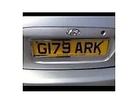 NUMBER PLATE G17 9ARK