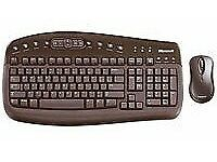 Keyboard Desktop Wireless Microsoft Optical 1000 (PC & Mac)