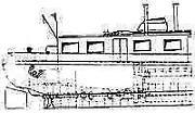 Bauplan Schiff