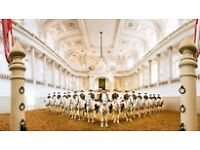 2x tickets for The Spanish Riding School of Vienna