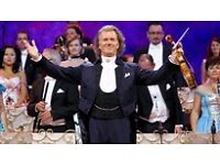 Andre Rieu - SSE Hydro - 2 Floor Level Seats - 23/12
