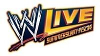 3 tickets to WWE