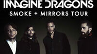 Four side-by-side IMAGINE DRAGONS Tickets for June 6th at Rexall