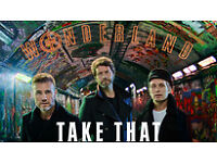 2 X TAKE THAT TICKETS FOR FRIDAY 12TH MAY AT SSE HYDRO, ONLY £71.50 EACH