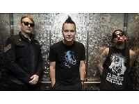 2 x Blink 182 Tickets for sale