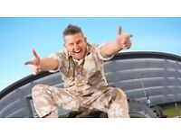 2x tickets for Gary tank commander 22nd October