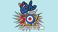 UP TO SIX CLUB SEATS SEC 119 & 120 THE WHO THURS OCT 1ST 7:30 PM