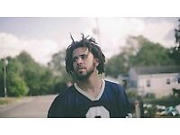 X2 J Cole Tickets @ o2 (American Express Reserved Seats)