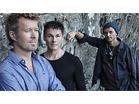 Aha, A-ha tickets, Yeovil. 4 sitting, 1 standing