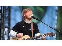 Ed Sheeran ticket cardiff - Saturday 16th June - one seated ticket £150