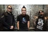 Blink -182 SSE Hydro 11th July 2 seated tickets
