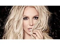 Britney Spears SSE Hydro 22 August 2 seated tickets