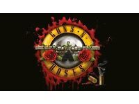2x Guns N' Roses - Friday 16th June 2017, London Olympic Park - Standing & Unreserved Seating