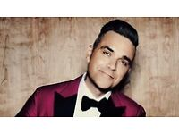 Robbie Williams - 2 x TICKETS - THE HEAVY ENTERTAINMENT SHOW TOUR 2017 - SOLD OUT TOUR - LONDON