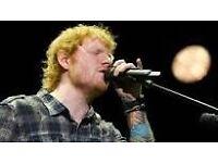 2 x Ed Sheeran Tickets SSE Hydro Glasgow 16/4/17