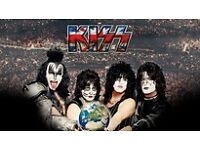 4 x Kiss Tickets - Standing - Birmingham - 28 May 2017 - £65 each