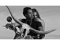Beyonce and Jay-Z Manchester Etihad 13.6.18 Level 1 great seats face value x 4