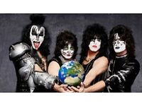 Kiss - Kissworld2017 - SSE Hydro - Glasgow - 27th May - 2 * Standing tickets