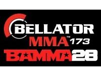 2 BAMMA tickets £100 for 2 tickets