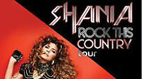 Shania Twain Friday Show Section 122 - Row 7 BEST VIEW!