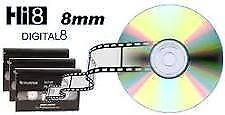 D8,HI8,8MM,MINI-DV,VHS-C,VHS,BETAMAX*NOW PAL-SECAM-NTSC TO DVD. Yellowknife Northwest Territories image 2